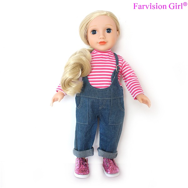 Blue jeans 18 inch fashion doll with music 18 inch fashion doll