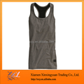 Classic dark grey womens tight tank top design wholesale