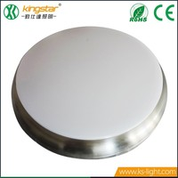 SMD2835 8W 12W 15W optional Round dimmable waterproof led recessed ceiling lamp , low profile surface mounted led ceiling light