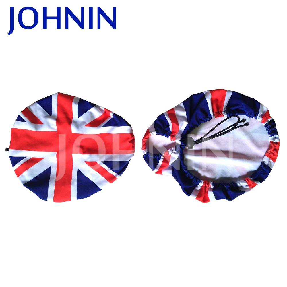 UnionJack Auto Car Side Mirror Elastic Flag Covers