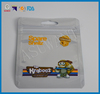 Small plastic zipper bags printed with clear window