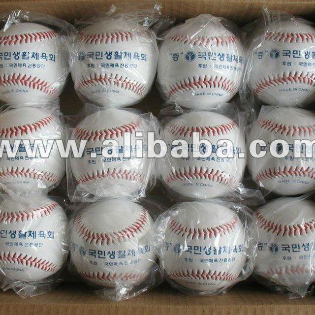 Export Korea The handwork sews PVC Material Filling:Rubber baseball