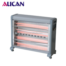 Big electric portable 3000W home quartz heater with fan and humdifier big style quartz infrared heaters