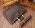Wholesale fashion top quality genuine leather business messenger bag men's briefcase