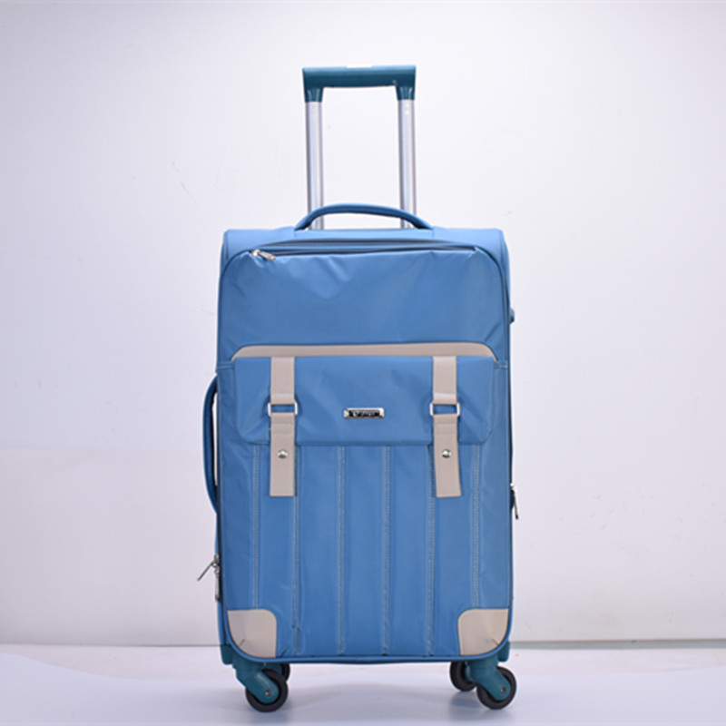 Newly design fabric luggage bag/2017 Best-selling carry on travel luggage