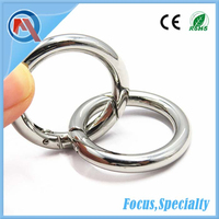 Metal Spring Gate O Ring For Bag Accessories