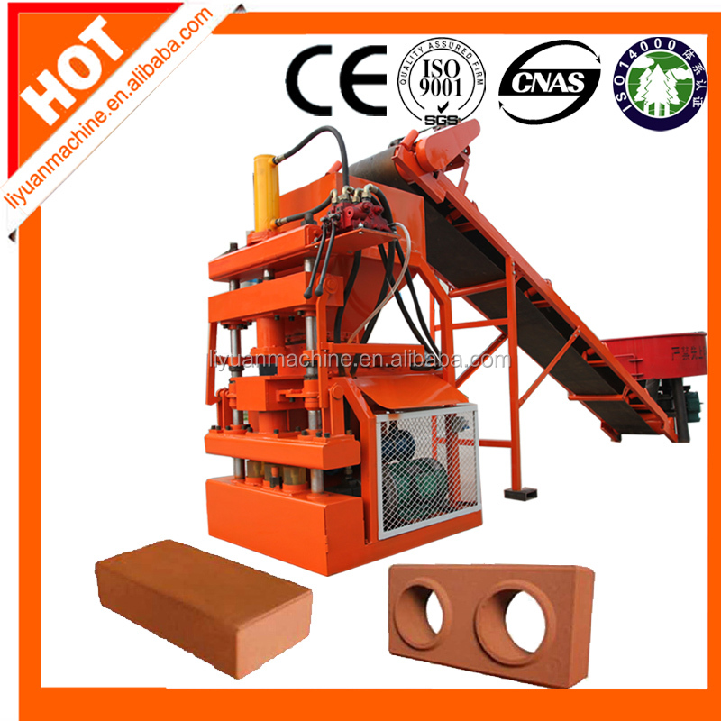 LY1-10 hydraulic veneer press machinery clay brick forming machine