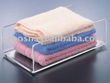Acrylic Towel Holder,Plexiglass Washcloth Rack,Lucite Napkin Display