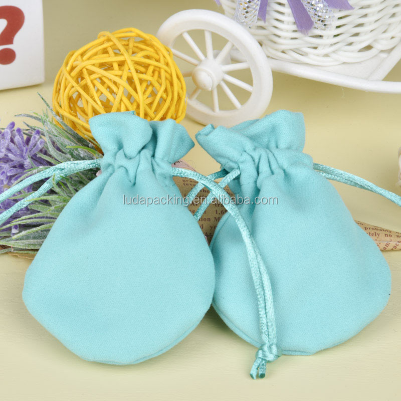 Factory OEM Wholesale Custom Drawstring Cotton Pouch Bag for Jewellry