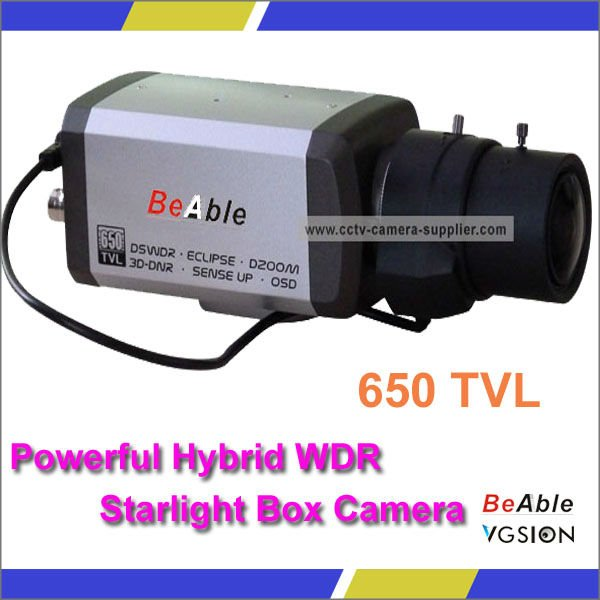 2.7-13mm Anpherical Optical Auto Iris Lens Made In Japan 650TVL Hybrid WDR Starlight WDR Box Camera