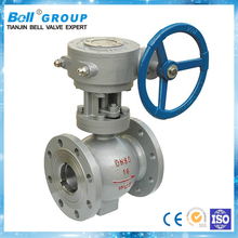 Specialized factory of full bore ball valve equipped with handwheel