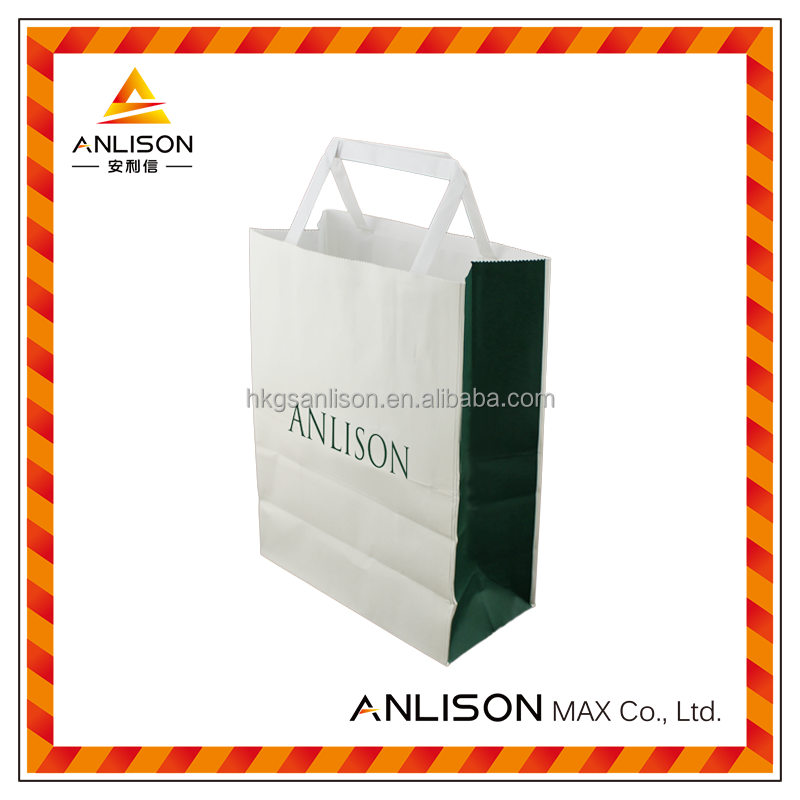 Promotional Custom logo Printed Paper Shopping Bag