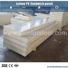 anti-rust pu sandwich panel isopanel panel / polyurethane / pir insulated panel price for roof