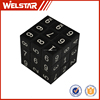 5.5 cm DIY toy game magic cubes plastic magical cube