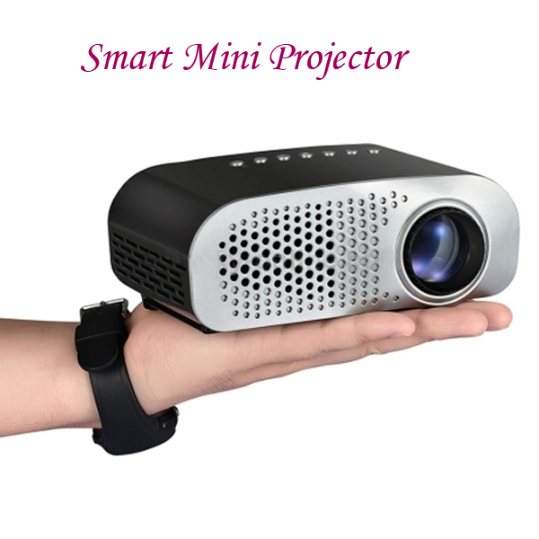 China Supplier Portable Smart Mini Projector, for Home Theater Laser Logo Projector