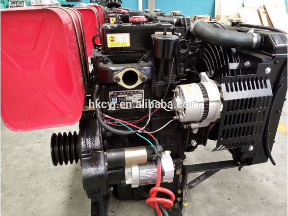 1500rpm 4 stroke diesel engine for generator R6105ZD