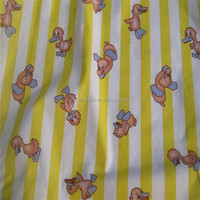 cheap baby cloth fabric,100%C duck print fabric