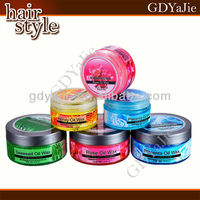 High quality moisturizing hair pomade, best greasy hair gel wax for men