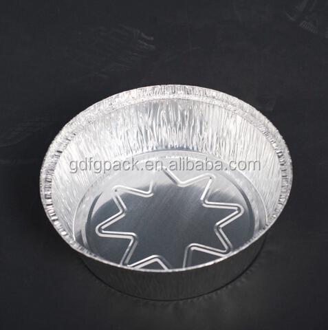 Disposable food packaging aluminum foil container/tray/box for airline food supply