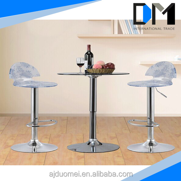 Simple style clear plastic chair cover china furniture bar chairs for sale