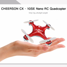 2018 Cheerson CX-10SE CX10SE Mini Drone CX-10 Upgrade 4CH 6Axis Small Drone Quadrocopter Eachine Toys RC Helicopter VS CX10