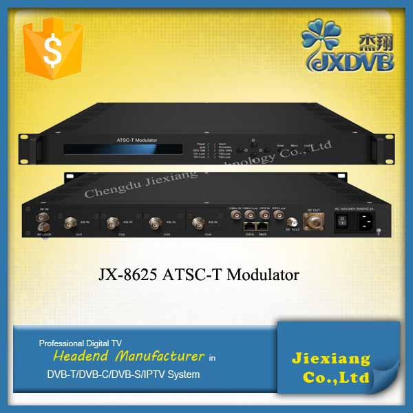 ATSC-T Digital TV Modulator/ASI Input ATSC 8VSB RF Modulator