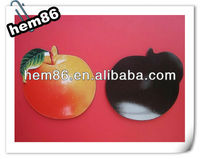 fruit shape pvc fridge magnet
