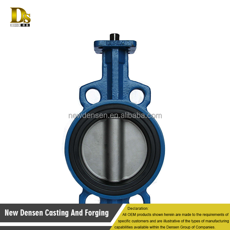 China's OEM high quality pressure relief stem gate butterfly valve
