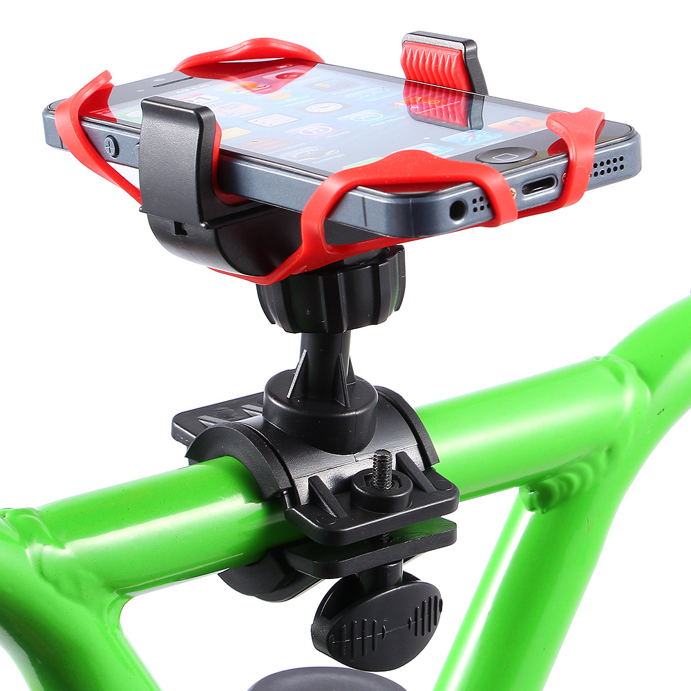 Cell phone holder Easy to install and quick release bicycle phone mount