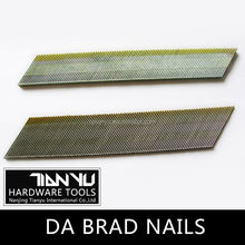 High quality Galvanized DA brad nails large steel nails