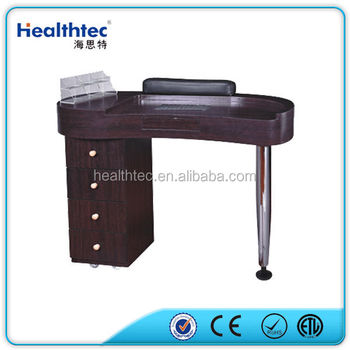 Black manicure table nail desk buy manicure table nail for Black nail desk