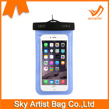Cellphone Waterproof Dry Bag Case with Sensitive PVC Touch Screen