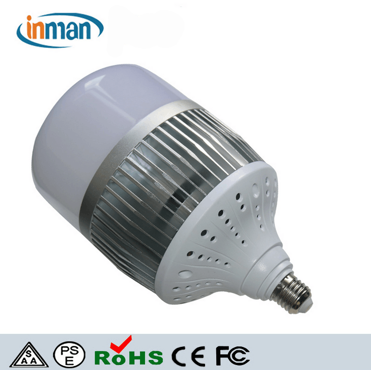 100w high lumen dimmable energy saving die cast aluminum led light bulb