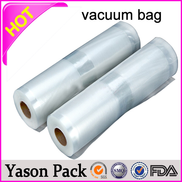 Yason nylon vacuum bag for food nylon embossed vacuum food sealer bag side gusset cooking chicken microwave bag nylon pe vacuum