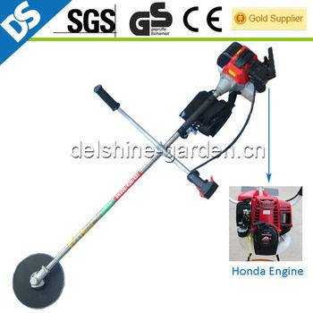2013 New Design Steel Shaft Gasoline CG430 Honda Engine Brush Cutter