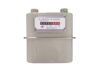 HOUSEHOLD DIAPHRAGM GAS METER WITH STEEL CASE 1.6