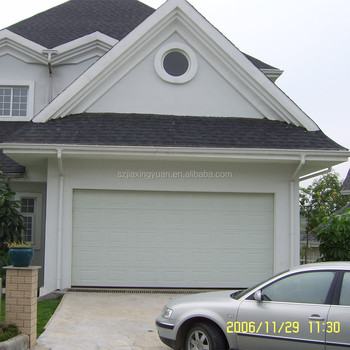 Overhead steel sectional cheap garage doors