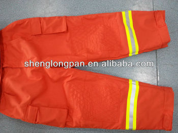 Flame retardant work clothes for fireman