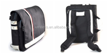 One Shoulder Strap School Bag Convertible Double Shoulder Laptop Backpack