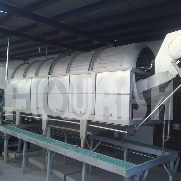 High efficiency carrot juicer production line