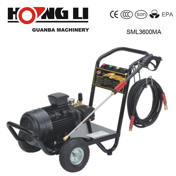 SML3600MA motor driving high pressure washer water jet