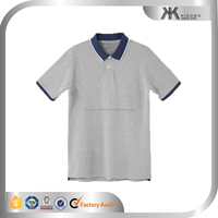 fashion young men ringer polo tee color combination polo shirt
