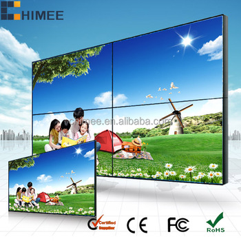 46inch Video Wall for pc monitor / DID video wall / stage led video wall for concert