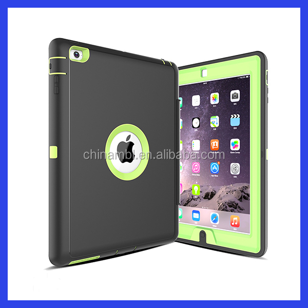 High quality carbon fiber smart cover case, for iPad air smart cover