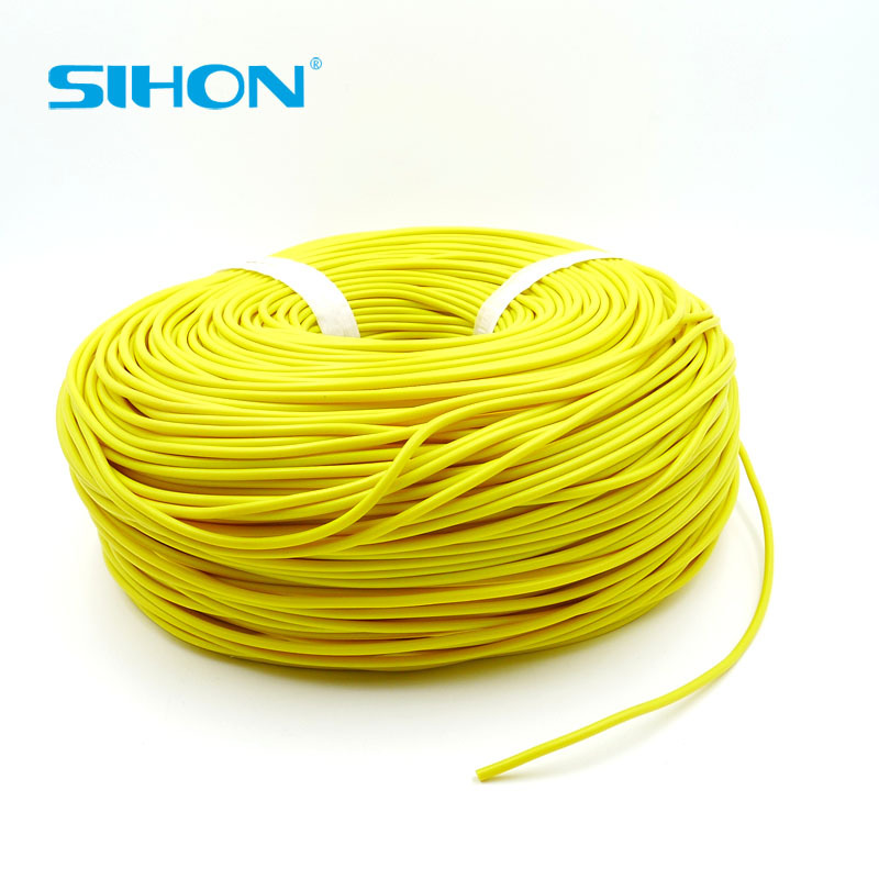 100m 3.5cm Flexible Silicone Wire Cable Yellow color Electrical Wire Line <strong>Copper</strong>