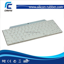 CE,ROHS,FCC ultra-thin Aluminium plastic ultra-thin bluetooth keyboard for iPad Air/iPhone 6