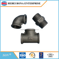Best selling black/galvanized Malleable iron pipe fittings with competitive price