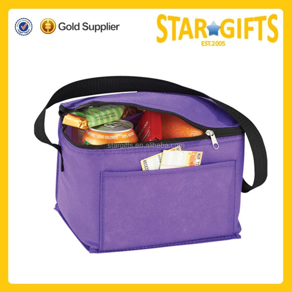 Wholesale Cheap 210D Polyester Insulated Disposable Cooler Bag