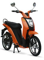 Selling Well All Over the World 350W Electric Scooter with Pedals Electric Motorbike