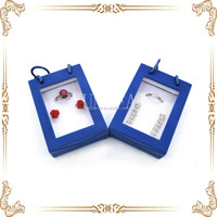 factory direct wholesale blue hand bag shape jewelry small set box